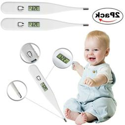 Digital LCD Thermometer Home Baby Adult Body Safe Oral Elect