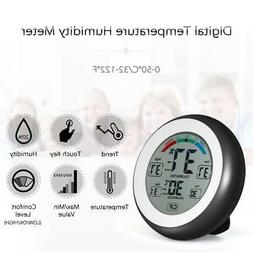 Digital LCD Thermometer Hygrometer Humidity Gauge Wall Hangi