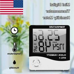 Digital LCD Thermometer Hygrometer Humidity Meter Room Indoo