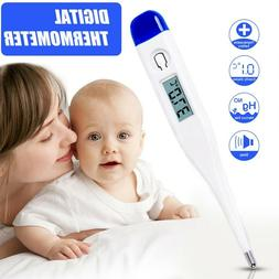 Digital LCD Thermometer Soft Type Electronic Baby Adult Mout