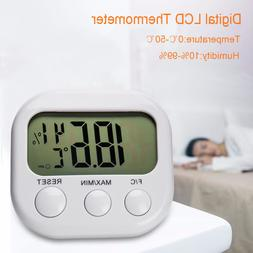 Digital LCD Thermometer Temperature Weather Hygrometer Humid