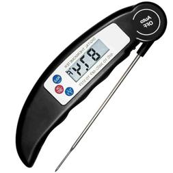 Digital Meat Probe Thermometer Instant Read Grill Oven Kitch