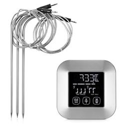 Digital Meat Thermometer 3 Stainless Steel Temperature Probe