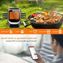 COMLIFE Digital Meat Thermometer, Bluetooth Wireless Remote
