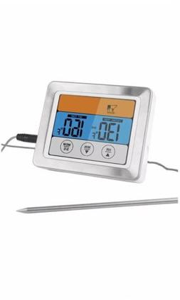 Kohi Digital Meat Thermometer Food Thermometer Oven Safe Tim
