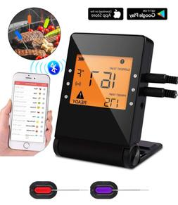 Yasmine Digital Meat thermometer for Grilling, APP Controlle