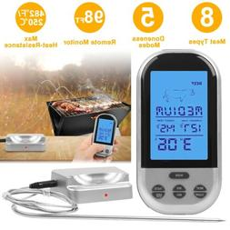 Digital Meat Thermometer Instant Read for BBQ Grilling W/Bac