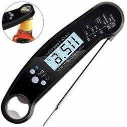 Digital Meat Thermometer Waterproof Instant Read Kitchen The
