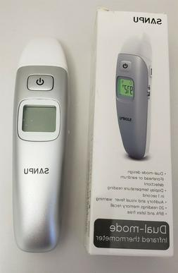 SANPU Digital Medical Infrared Forehead, Ear Thermometer for