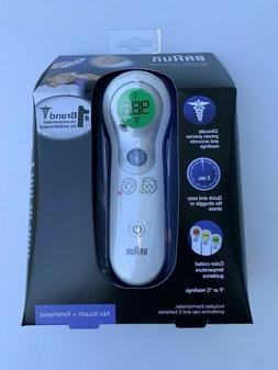 BRAUN DIGITAL  FOREHEAD THERMOMETER NEW TOUCHLESS BABIES KID