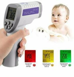 Digital Non-contact IR Infrared Thermometer Forehead Body Te