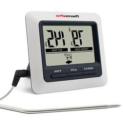 ThermoPro Digital Meat Cooking Thermometer for Food Oven Gri