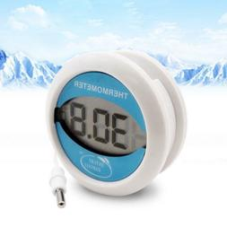 Digital Refrigerator Thermometer with Probe Waterproof Easy