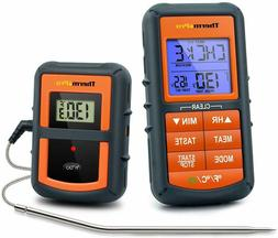 digital remote wireless meat cooking thermometer