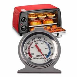 Digital Temperature Oven Thermometer Gauge Stainless Steel F