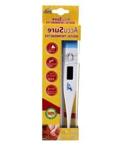 AccuSure Digital Thermometer Hard Tip Non Mercury for Humans