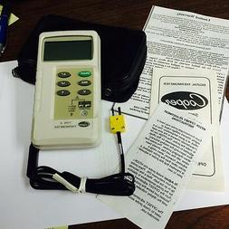 COOPER DIGITAL THERMOMETER  HT20K  WITH PROBE,  -58F TO 1999