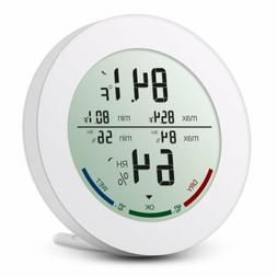 Digital Thermometer Hygrometer Indoor Humidity Indicator wit