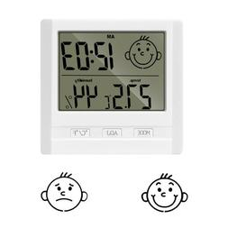 Digital Thermometer Hygrometer Indoor Temperature Humidity O