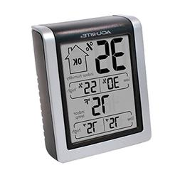 AcuRite 00613 Indoor Thermometer & Hygrometer with Humidity