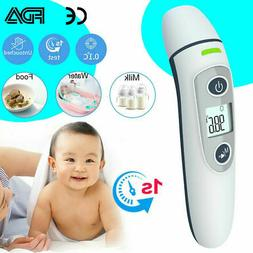 Digital No-contact Infrared Thermometer Ear Forehead Fever M
