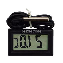 digital thermometer temperature meter probe sensor lcd