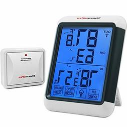 Digital Thermometer Wireless Hygrometer Outdoor Humidity Mon