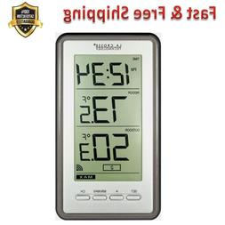 Digital Thermometer with Indoor Outdoor Temperature Remote S