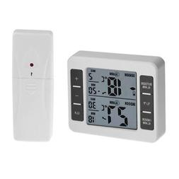 Digital Thermometer with Remote Sensor Transmitter Outdoor T