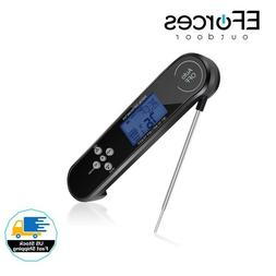 EForces Digital Waterproof Instant-Read Meat Thermometer wit