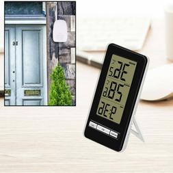 Digital Wireless Indoor/Outdoor Thermometer with Remote Sens