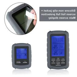 Digital Wireless Remote Dual 2 Probe Meat Thermometer For BB