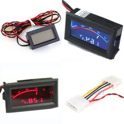 dual display digital thermometer temperature meter gauge
