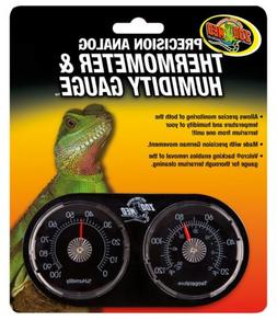 Zoo Med Dual Thermometer and Humidity Gauge Multi-Colored