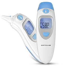 Ear and Forehead Thermometer for Fever, Digital Medical Infr