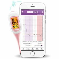 EasyHome Smart Basal Thermometer, Large Screen Backlit, Ovul