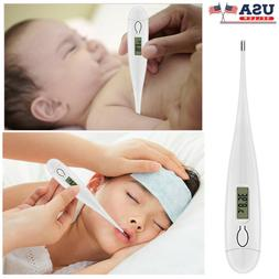 electronic digital lcd thermometer medical baby adult