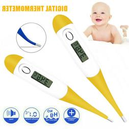Electronic Digital LCD Thermometer Medical Baby Adult Body S