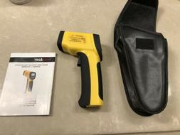 EnnoLogic eT650D Dual Laser Infrared Thermometer W/case And