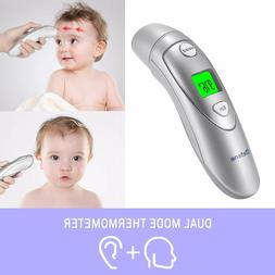 Forehead & Ear Thermometer,Infrared Digital Thermometer WE H