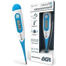 Best FDA Digital Medical Thermometer  - Fast Readings in 10