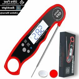 Digital Food Meat Thermometer For BBQ Kitchen Cooking Water