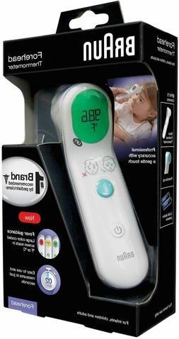 Braun Forehead Thermometer - BFH125 - White - Fast Free Ship