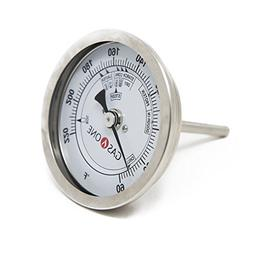 GasOne 30200 Brewing Stainless Steel Thermometer with Washer