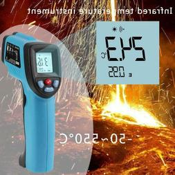 gm550 digital infrared thermometer laser temperature gun