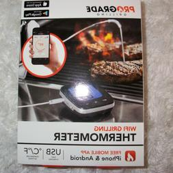 Pro Grade Grilling Wifi Thermometer for Iphone & Android Pho