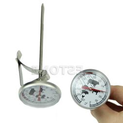 Hot Stainless Steel Instant Read Probe Thermometer BBQ Food
