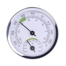Wall Mounted Household Analog Thermometer /& Hygrometer For Sauna Room Househ Nd