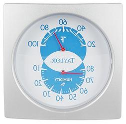 Taylor Weather Resistant Humidiguide/Thermometer