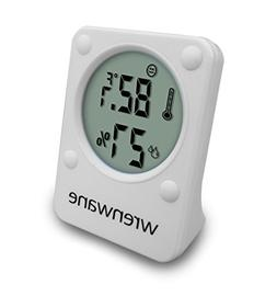 Wrenwane Hygrometer Humidity Monitor Indoor Room Thermometer